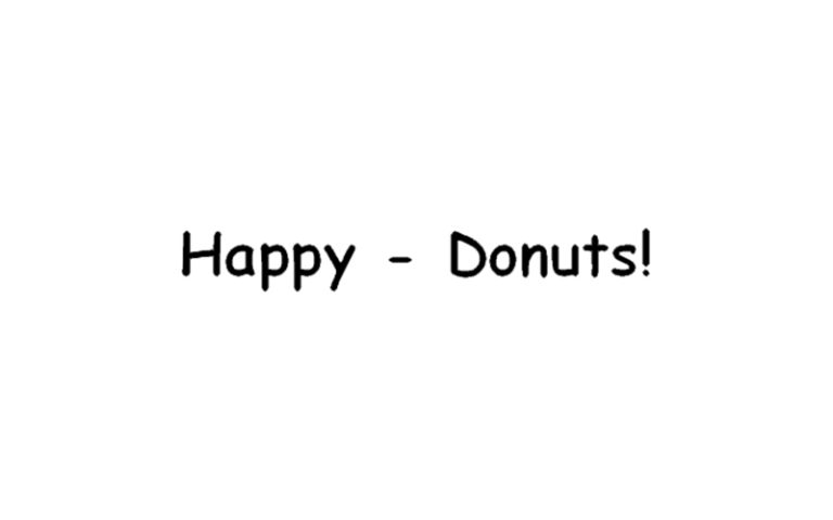 Donuts-Café